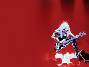 Postal: Iron Maiden