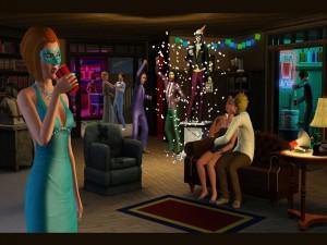 Los Sims 3, de fiesta
