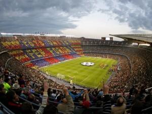 Postal: Camp Nou, Barcelona, España