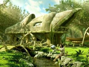 Postal: Casa de fantasía