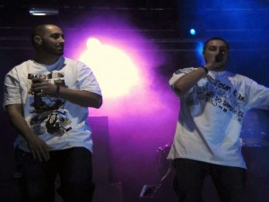 Postal: Falsalarma, un grupo rap de Barcelona