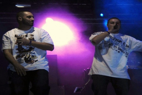 Falsalarma, un grupo rap de Barcelona