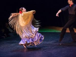 Postal: Baile Flamenco