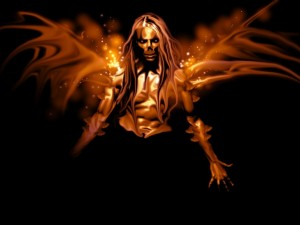 Ángel demoníaco