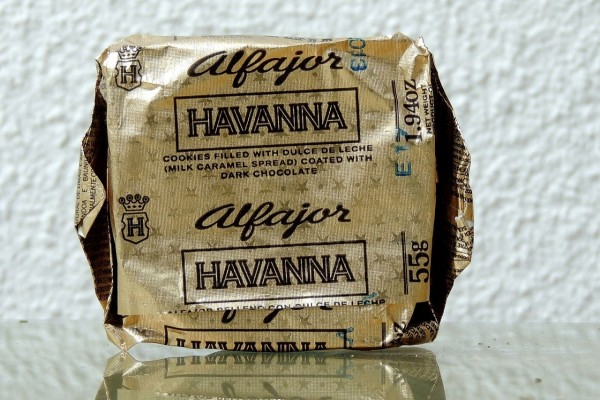 Alfajor Havanna de chocolate