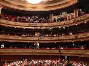 Interior del Teatro de la Zarzuela, Madrid