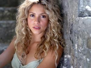 Postal: Una joven Shakira