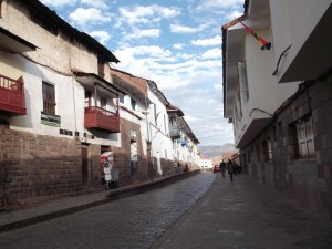 Calle de Cusco, Perú