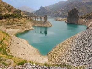 El Embalse de Canales, Sierra Nevada, Andalucía, España