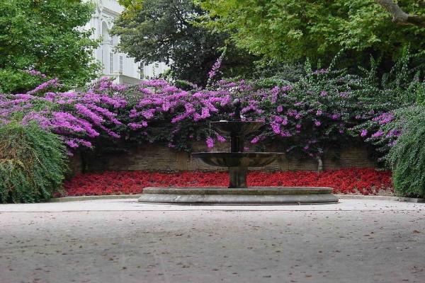 Parque Alameda, Santiago de Compostela, Galicia, España