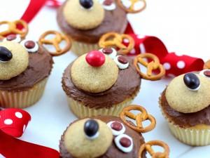 Postal: Cupcakes de osos