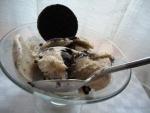 Helado de galletas Oreo