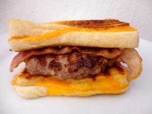 Sandwich de hamburguesa