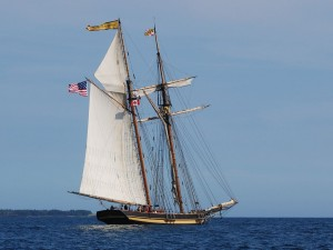 Postal: El velero Pride of Baltimore (Nueva Escocia, Canadá)