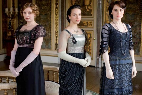 Las hermanas Crawley: Mary, Edith y Sybill (Downton Abbey)