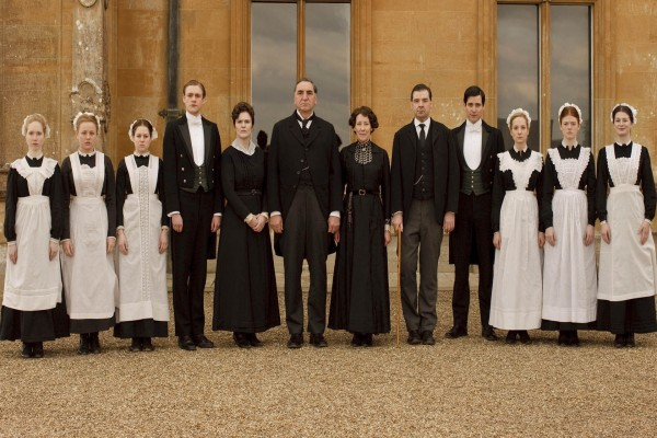 Miembro del servicio en Downton Abbey