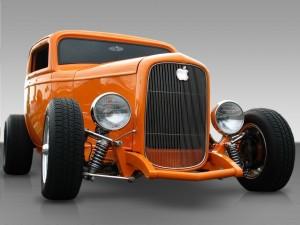 Coche clásico marca Apple