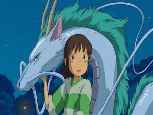 Chihiro y el dragón Haku