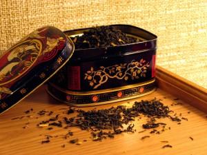 Bonita caja de té