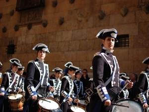 "Postal: Agrupación musical ""Maria Santísima de la Estrella"""