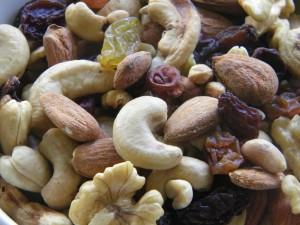 Postal: Frutos secos variados