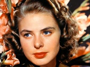 Postal: Los ojos azules de Ingrid Bergman