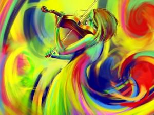 Postal: El color de la música