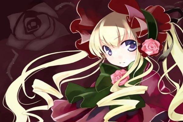 La niña de las rosas