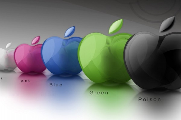 Apple de colores