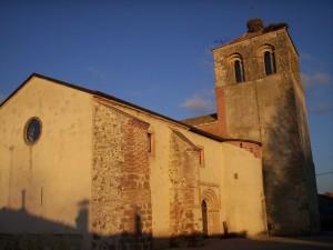 Postal: Iglesia de San Juan (Aguilafuente, España)
