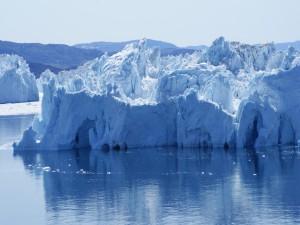 Postal: Icebergs flotantes (Groenlandia)