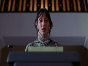 "Postal: Wendy Torrance (Shelley Duvall) en ""El Resplandor"""