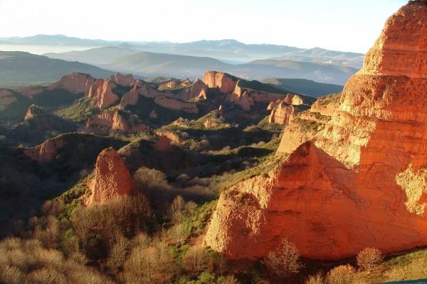 Las Médulas, provincia de León (España)