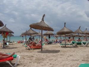 Playa de Palma de Mallorca (España)