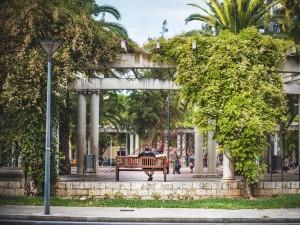 Plaza de las Columnas (Palma de Mallorca, España)