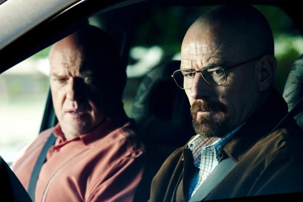 Walter con su cuñado Hank