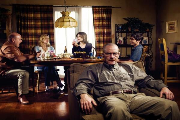 Walter con su familia