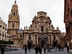 Postal: Catedral de Murcia, España