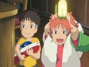 Postal: Sousuke y Ponyo