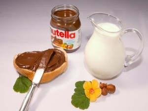 Tartine de Nutella
