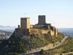 Postal: Castillo de Lorca (España)