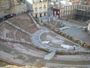 Postal: Teatro Romano de Cartagena (España)