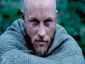 Postal: El vikingo Ragnar Lodbrok