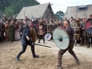 Combate entre Ragnar Lodbrok y el Conde Haraldson