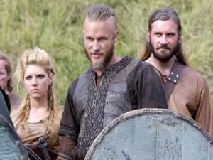 Ragnar Lodbrok, su esposa Ladgerda y su hermano Rollo