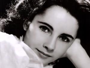 Elizabeth Taylor de joven