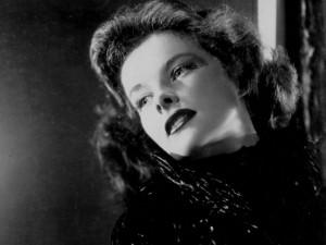 Postal: La guapa actriz Katharine Hepburn