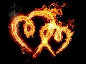 Corazones en llamas