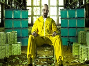 "Postal: Walter White en ""Breaking Bad"""