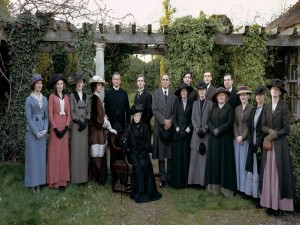 "Personajes de la serie ""Downton Abbey"""